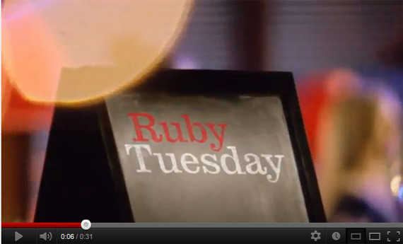 Ruby Tuesday Chef Inspired Commercial Review