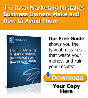 3 Critical Marketing Mistakes Free Guide