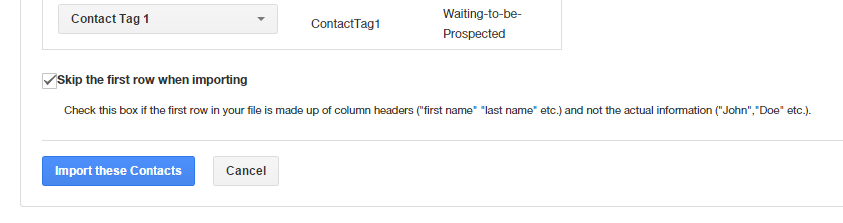 Contact Tags for Insightly CRM