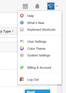 Insightly CRM System Settings
