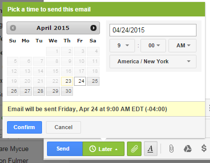 yesware-email-send-schedule