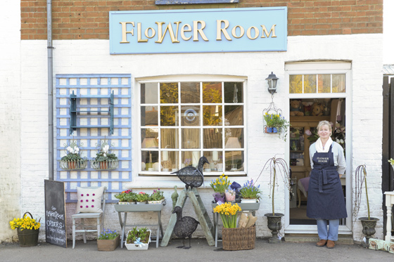 Business location for Flower Room Retail Shop