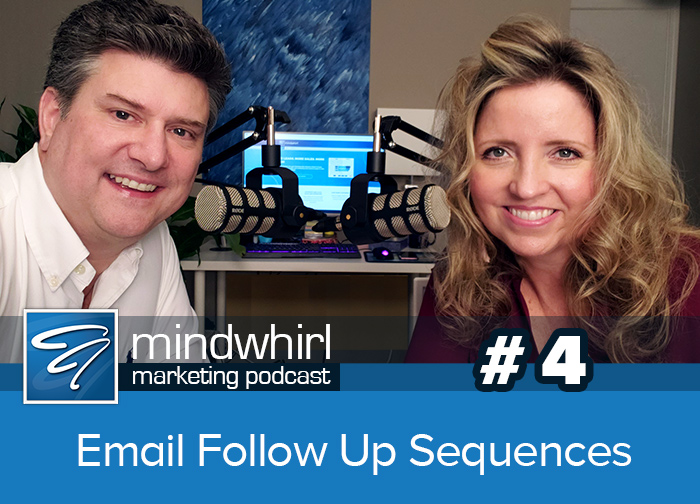 Mindwhirl Marketing Podcast Email Follow up Sequences